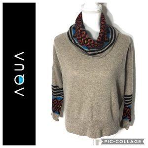 Aqua 100% Cashmere Sweater Small